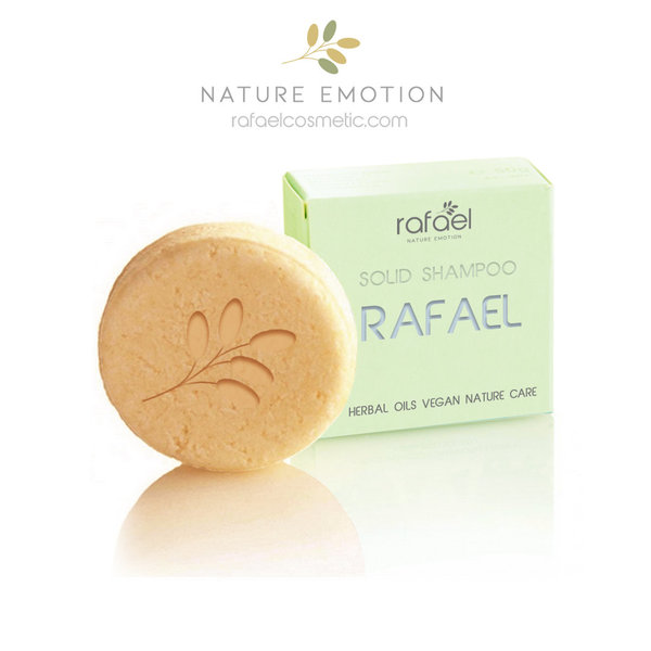 RAFAEL GOLD best natural shampoo from Germany - solid shampoo less hair loss - European Luxury Soap