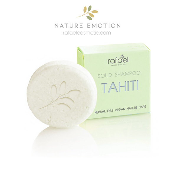 TAHITI -  Best natural cosmetic shampoo for olympia sport surfing diving yachting I water sportsman